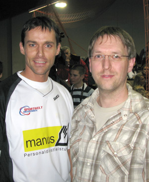 Sven Hannawald und ich